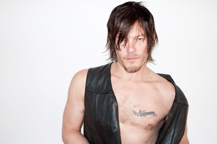 Norman Reedus at my studio #9
