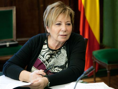 La vicepresidenta primera del Congreso, Celia Villalobos/ Fuente: Europa Press