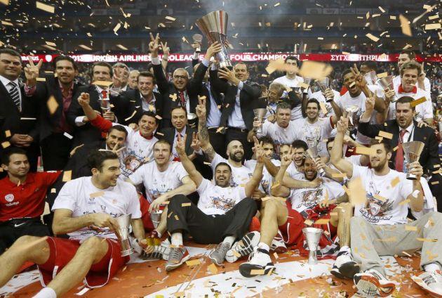 Olympiacos se alzó con su  segunda Euroliga consecutiva.