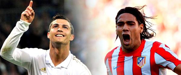 Cristiano VS Falcao | FOTO: RTVE