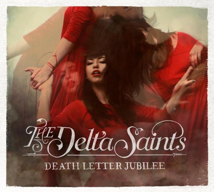 Portada del último disco de los Delta Saints, Death Letter Jubilee