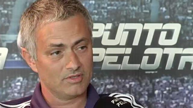 José Mourinho entrevistado por Punto Pelota | FOTO: PUNTO PELOTA
