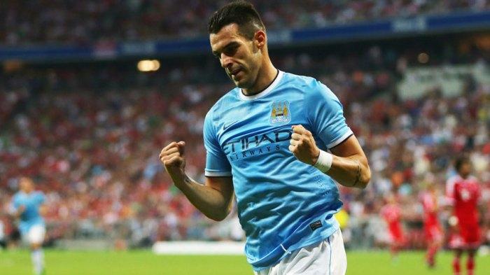 Negredo celebrando un gol con el Manchester City |FOTO: ESPN