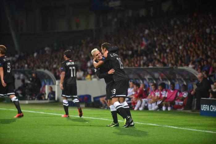 La Real Sociedad en Gerland | FOTO: diariovasco