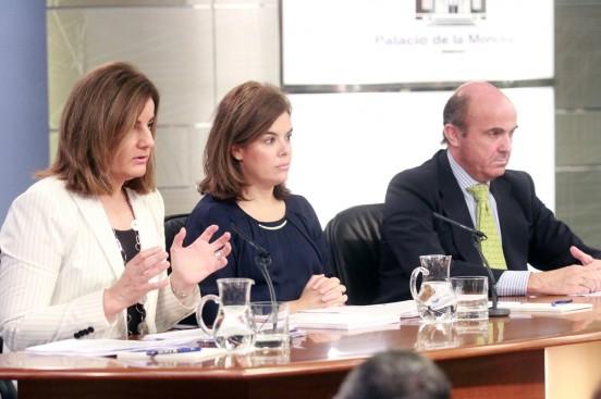 Imagen del Consejo de Ministros del 2 de agosto, donde se presentó el anteproyecto