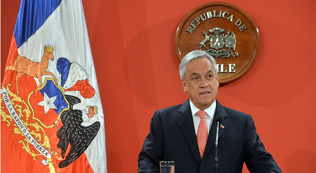 Sebastián Piñera, presidente de Chile / Fuente: Semana