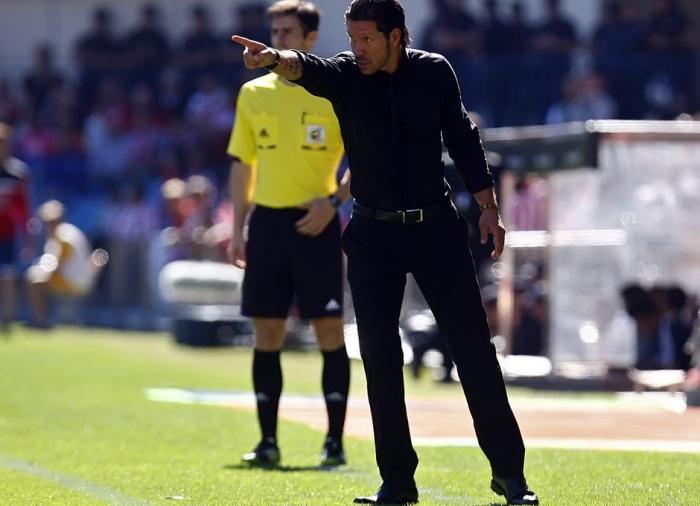 Simeone durante un partido | FOTO: Ángel Gutiérrez