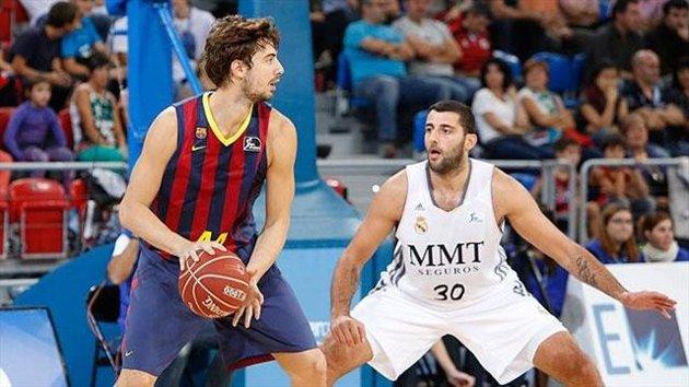 Pasado y presente. Bourousis se enfrentó a Tomic en la última Supercopa | FOTO: Blog de Basket