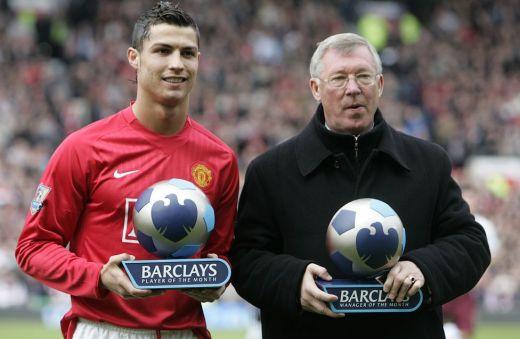 Cristiano Ronaldo junto a su padre futbolístico / Diario As