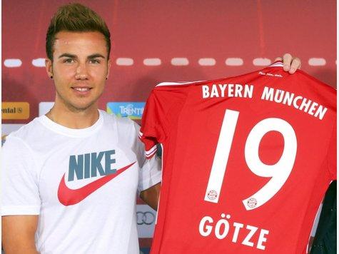 Presentación de Götze con el Bayern | FOTO: Nairaland.com
