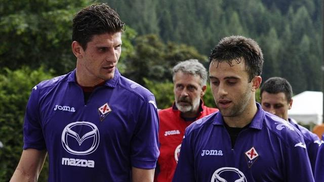 Mario Gómez y Giuseppe Rossi (Foto: Eurosport)