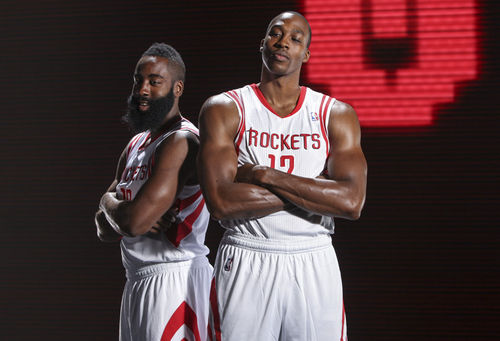 James Harden y Dwight Howard, dispuestos a hacer historia | Foto: nba.com