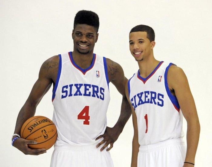 Nerlens Noel y Michael Carter Williams, dos rookies en los que los Sixers tienen mucha confianza. | Foto: nba.com