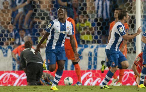 Thievy celebrando un gol/FOTO: elpais.com
