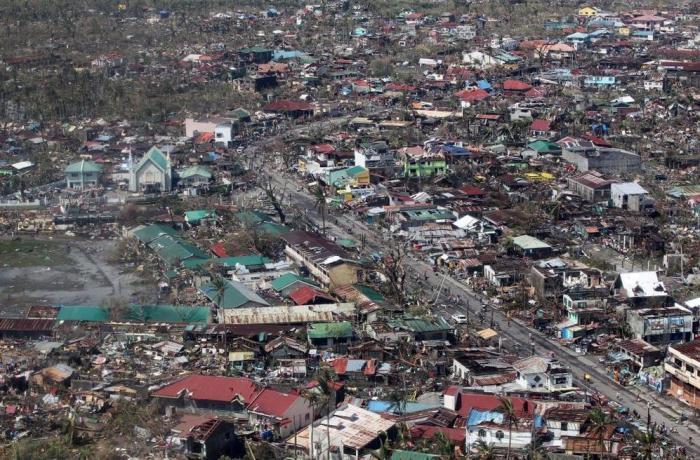 Una de las zonas afectadas de Filipinas / Fuente: AFP