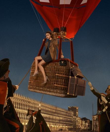 Arizona Muse para Louis Vuitton
