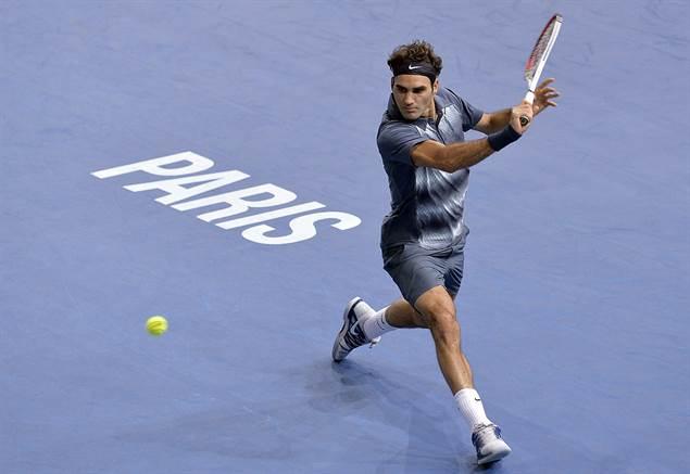 Federer durante el pasado Masters 1000 | Fuente: atpworldtour.com