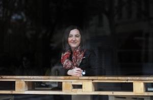 La escritora y periodista Nuria Varela. Fuente: www.lamarea.com