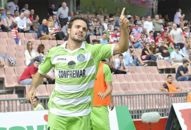 Pedro León celebra un gol (Foto: Marca.com)