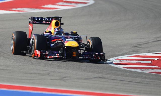 Sebastian Vettel en el GP de EEUU | FOTO: EFE