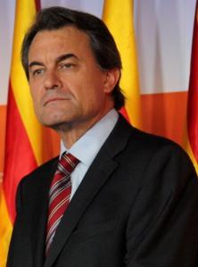 Artur Mas, presidente de la Generalitat de Catalunya